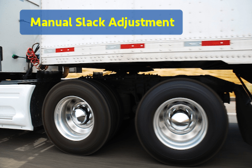 manual slack adjustment