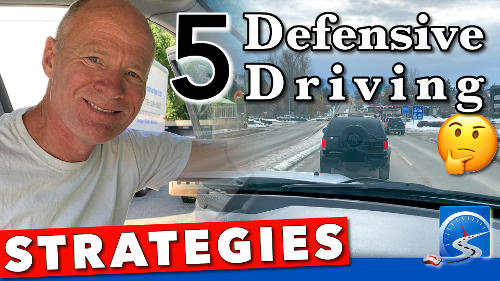 Be a safer, smarter driver with these 5 defensive driving strategies.