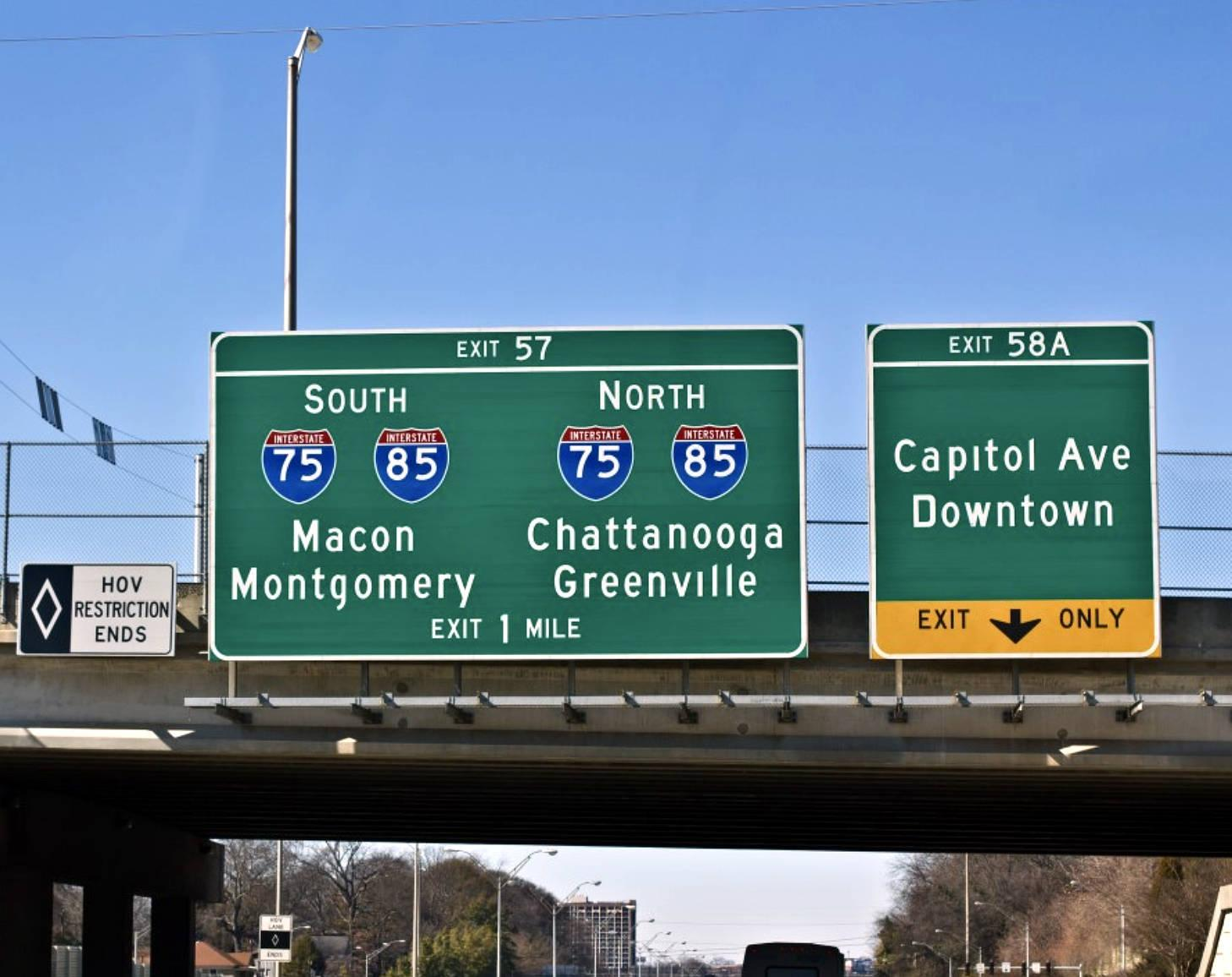 Most states--except New York--the mile markers line up with the exit numbers.
