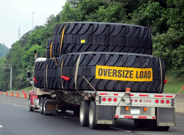 As a CDL driver or driver of a large vehicle, be on the look out for oversized vehicles and give these ample space.