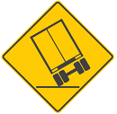 Too often drivers of large vehicles are travelling too fast for the curve or corner and the vehicle rolls over causing a single-vehicle crash.