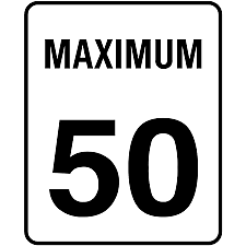 The speed limit inside Alberta cities is 50kmp unless otherwise posted.