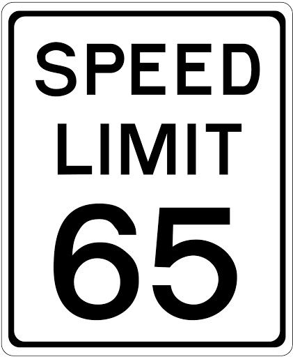 The maximum speed limit in the state of Montana is 65mph unless otherwise posted.