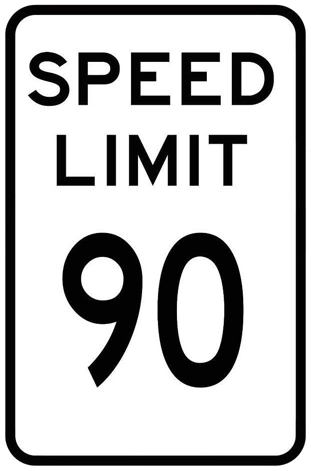 The maximum speed limit in the province of Manitoba is 90kph unless otherwise posted.
