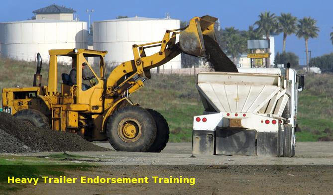 In British Columbia, a heavy trailer endorsement is required for trailers weighing more than 10,000lbs (4,600kg).