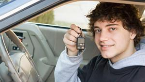 A young man completes the defensive driving course and increases his driving skills.