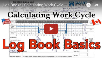 Calculate Log Book Work Cycle