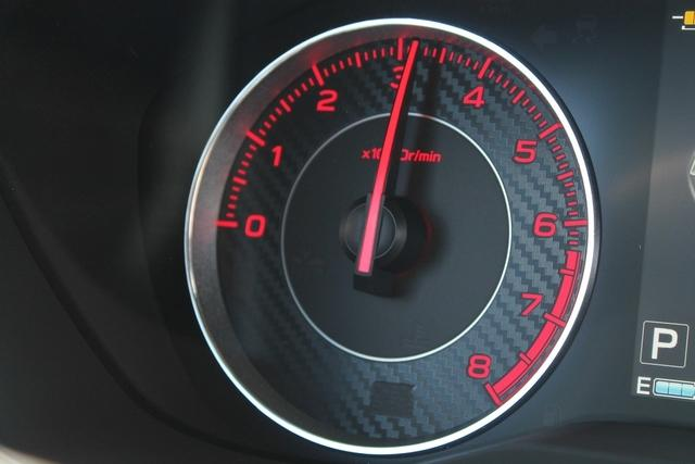 The tachometer provides valuable information when learning to drive a manual car.