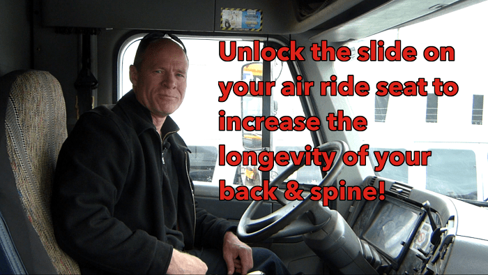 How to Adjust an Air Ride Seat :: Truck & Bus Drivers
