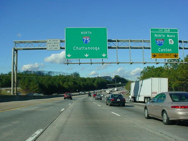 Even numbered interstates run east-west; and odd numbered interstates run north-south.