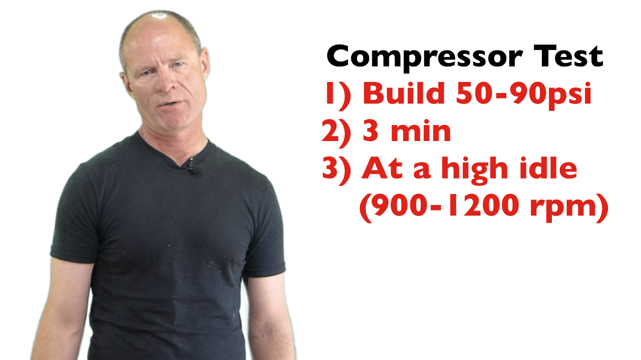 air compressor test