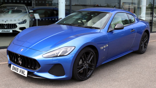 The next vehicle I'm going to buy :: 2018 Maserati GranTurismo Sport Automatic 4.7 Front