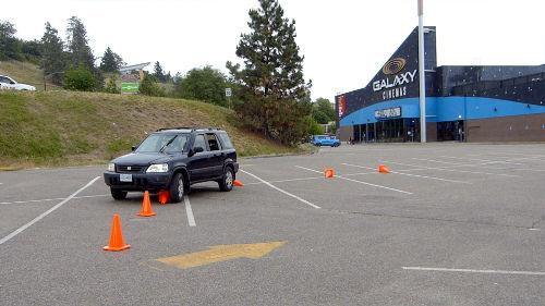 When learning to drive, hitting the cones is both fun and a great learning experience.