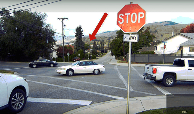 When two vehicles are turning left across from each other at a 4-way STOP, the 2 vehicles can proceed at the same time.