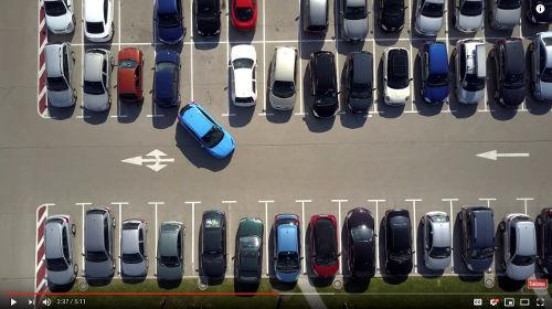 By learning how to reverse in a parking lot or alleyway, you'll find that reverse stall parking is easy because you've already learned the fundamentals of backing.