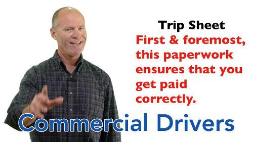 Filling out the CDL trip sheet correctly ensures that you get paid correctly for the worked you've completed.